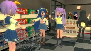 Fun Grocery Shopping by xSakuyaChan510x