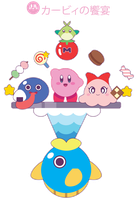 Gourment Kirby and Friends ::COMM:: by Itachi-Roxas