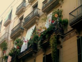 Lovely Balconies by kohtalo8