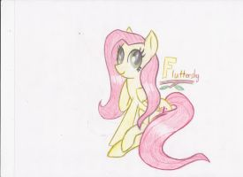 Traditional Fluttershy by Zephyter0