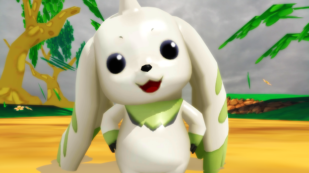 Terriermon (Cyber Sleuth) by GuilTronPrime