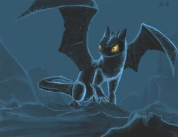 daily 4 toothless by lazerman425