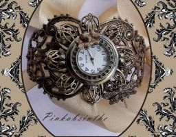 Fantasy Steampunk watch by Pinkabsinthe