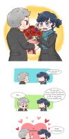 [BBC SHERLOCK] bouquet by twosugars16