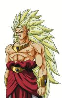 Brolly SSJ3 by Gothax