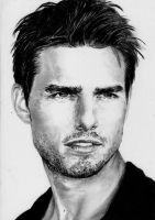 Tom Cruise by kk-art