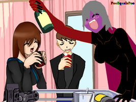 Drinking Collab w/ O-Dokuro and OblivionYouLied by poisonraven5