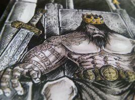 the mad king sketch color version vol.02 by rehAlone