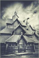 Stave Church in Heddal, Norway - with story by torasenfoto