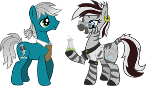 The Monster Below: Silverspeak and Beakbreaker by InkRose98