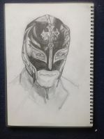 rey mysterio by MeetTheMonster