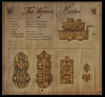 The Wyvern Hunter - Fantasy map by Djekspek