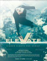Elevate Church Flyer Template by loswl