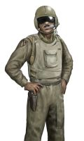Vietnam era Helicopter Pilot 2 by dashinvaine