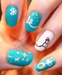 Nail Art 132 #christmasnails by Saphiel89