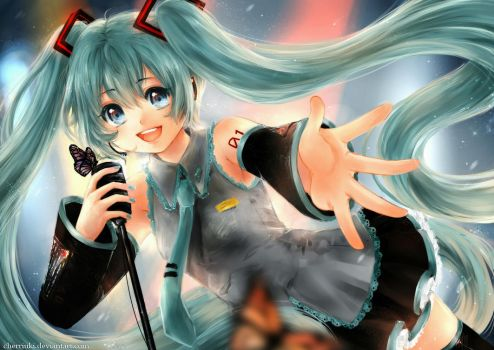 Vocaloid: Digital Diva Miku by cherriuki