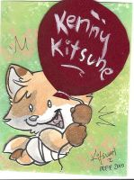 Kenny's Surprise Badge-Kitsumi by KennyKitsune