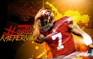 Colin Kaepernick Wallpaper by NickMamba