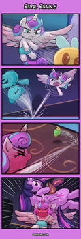 4koma Friday - Royal Rumble by luminaura