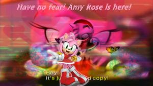 Amy rose Background by infersaime