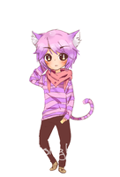 Cheshire Kittyman by sugar-lantern