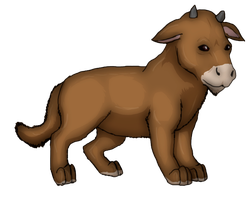 Moose-Lion cub from Avatar by Speck--Of--Dust