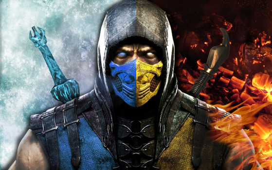 Sub Zero and Scorpion Wallpaper by PreSlice