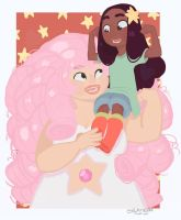 Connie and Rose by Thesleepypencil