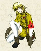 Seras all colored in by artangel85
