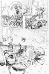 Transformers - Combiner Wars#5 - page 14 pencils by MarcFerreira