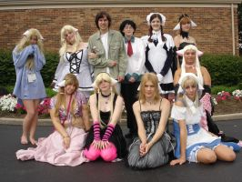 Chobits cosplay group by sakanajanai