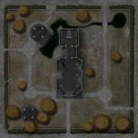 Mordheim Map 2: The Cemetary by Blazbaros