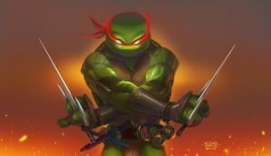 Art Jam Raphael color by edsfox