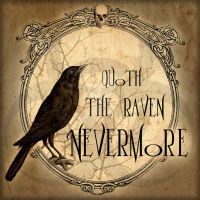 Quoth the Raven Nevermore by NeverlandJewelry