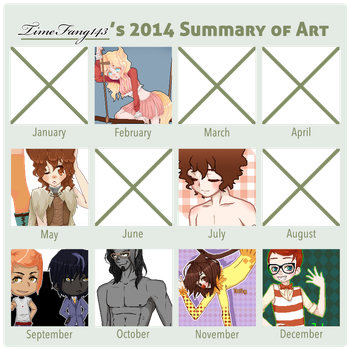 2014 Summary of Art by Timefang143