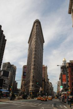 The Flat Iron Building by harryandhermionefan