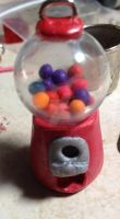 Miniature Gumball Machine by EsotericGarden