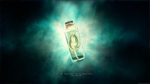 A Voice in a Bottle by Sirhaian