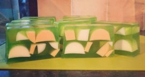 Apricot and Pear Soap by FaeElixir