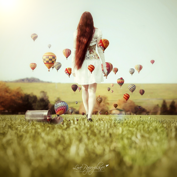 JOY OF IMAGINATION by Lovepaperplane