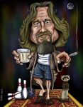 The Dude by CaricaturEd