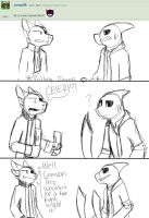 Ask/Dare My Characters 84 by SuperColdSoda