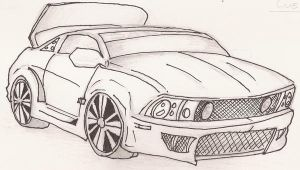 Mustang GT W.I.P by FrostyX999