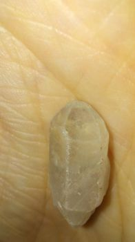 First Clear Quartz gem in nearly perfect condition by zancecreator101