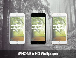 Stussy iPhone 6 HD Wallpaper by GFXKinect