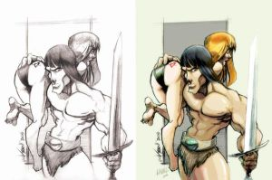 Will Terrell's Conan Colors... by Lawnz