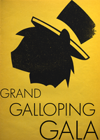 Grand Galloping Gala Simple Poster by BTedge116