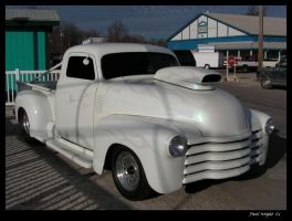 Old Chevy Drag Truck Side by colts4us