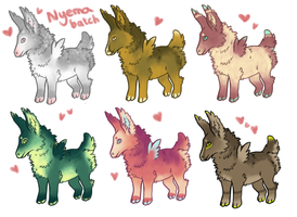 CLOSED - Nyema batch 01 by CalliasAdopts