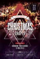 Christmas Shapes Flyer by styleWish